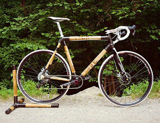 Individueller Fahrrad-Aufbau Cross-Bike